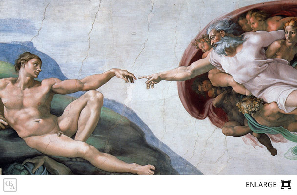 The Creation of Adam | Michelangelo