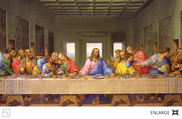 The Last Supper | Leonardo Da Vinci